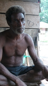 Elder of Baad village, Merauke, Papua, Indonesia/FPP, 2013.