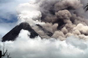 Mount Merapi is one of 130 active volcanoes in Indonesia  © Courtesy of Pelang Merah Indonesia