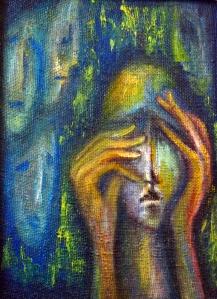 Painting by Maia Kirchkheli