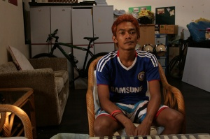 Nui, 19, ran away from home when he was 12 to escape abuse by his alcoholic father.